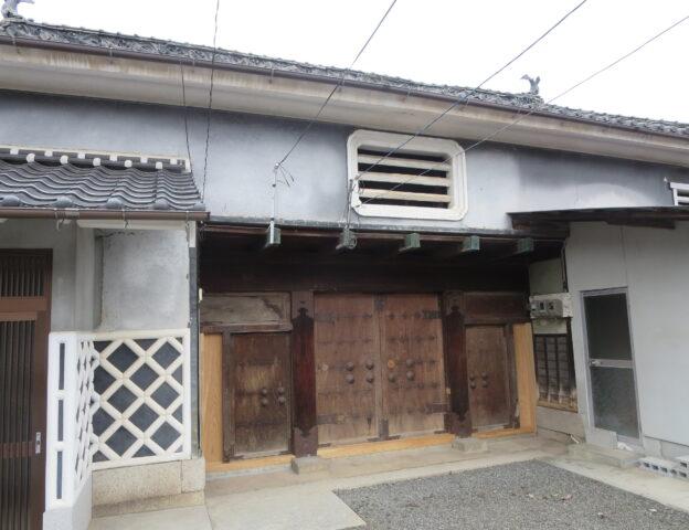 旧角倉邸 中門の修復完成!!