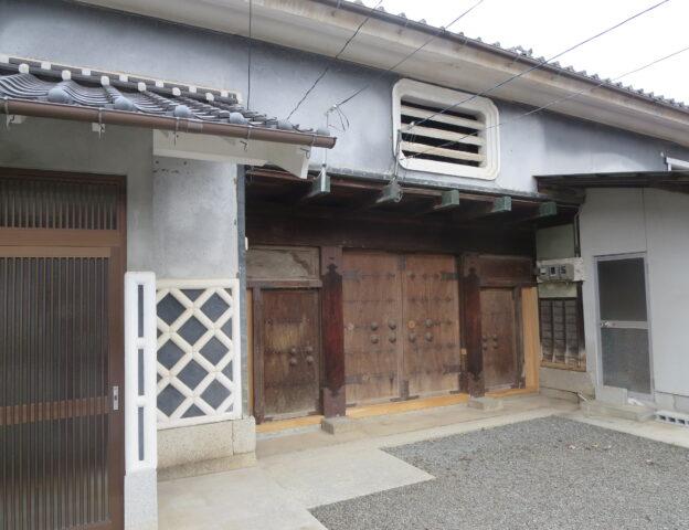 旧角倉邸 中門